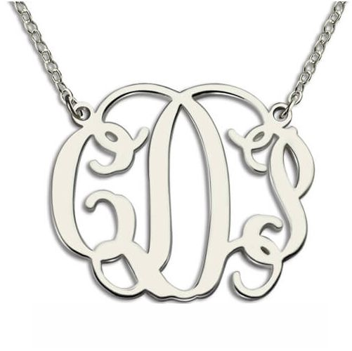 Personalized Swift Monogram Necklace