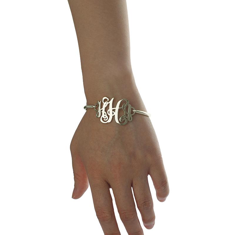 Personalized Monogram Initial Bracelet