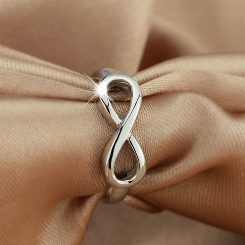 Sterling Silver Infinity Symbol Ring