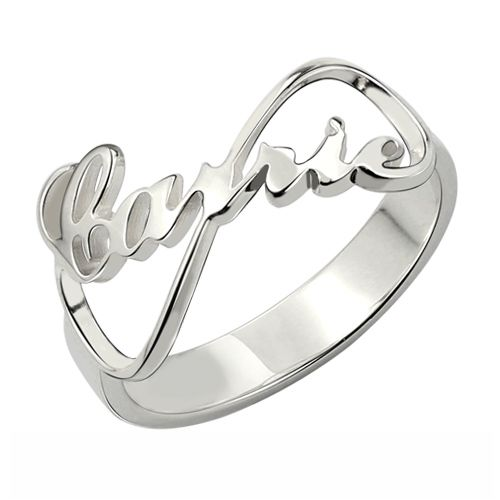 Custom Ring Carrie Style Sterling Silver