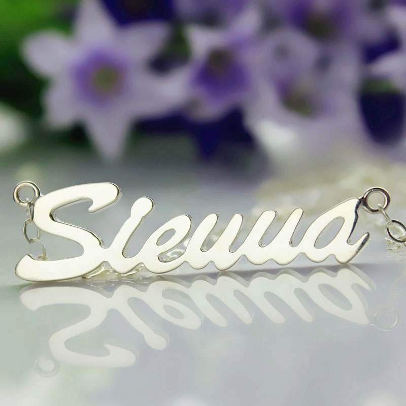 Sterling Silver Sienna Style Necklace